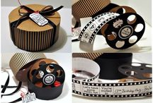 MOVIE REEL SET - THE CUTTING CAFE