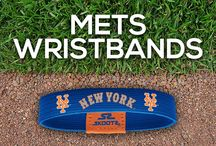 New York Mets MLB Wristbands and Fan Gear / Shop for New York Mets MLB wristbands and fan gear. Find your teams MLB bracelets and gear at Skootz! http://www.skootz.com/