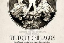 Skull illusion poster