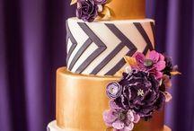 → Wedding Cake Inspiration / Indian Wedding Cake Inspiration. Glamorous, elegant, royal colorful. Lots of detailing - elephant, peacock, henna, flowers. Golds