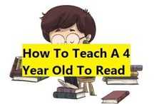 How To Teach Child To Read