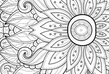 Coloring pages for adults / Coloring pages for adults