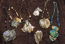 Favorite jewelry pieces / Some of my own favorite jewelry  pieces (many are from places I've travelled)