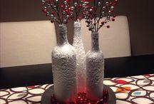 Botellas Navidad