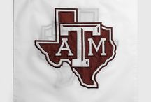 Aggie Home / It's not an Aggie home til it's bleeding maroon!