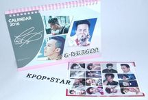 Korean Pop Star 2016 2017 Desk Calendar