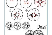 Tangles circles