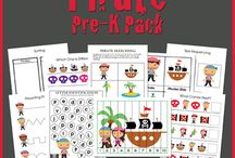 Homeschool - Unit Study - Pirates / by Danielle Leonard - The Frugal Navy Wife