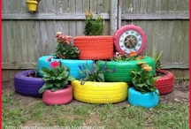 Recycling tyres / by Felicity Thomson Payne