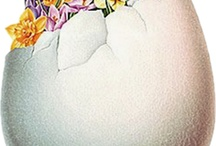 .✿⊱╮DECORATE THE EGGS / Beauties. Included..cakes shaped like eggs. / by Shirley Simpson