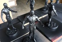 Statuette and Models