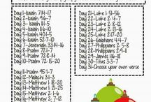 Advent / Scripture and Songs to Celebrate the Birth of Christ