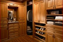 Custom Closet Designs / custom closet designs & master closets available through Asheville Custom Cabinetry