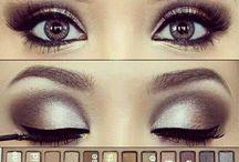 makeup + hare