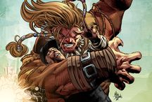 Comic Art - Sabretooth