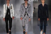 Gucci uomo / Gucci collezione e catalogo primavera estate e autunno inverno abiti abbigliamento accessori scarpe borse sfilata uomo.