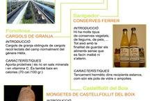 Ítems del Bages: alimentació i documentació a la BCUM / En aquesta exposició realitzada en motiu de la Setmana de la Ciència 2006 dedicada a l'alimentació, hi hem recollit una mostra d'aquells productes que són típics de la comarca del Bages. Alguns són exclusius, com les mongetes de Castellfollit del Boix i d'altres són varietats de productes que podem trobar a altres llocs, com per exemple la Mistela de Salelles. L'exposició consta de tres parts: Plafons informatius, guia de lectura i mostra de productes típics.