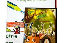 Educational stuff / The Tractor Dev Show is a wonderful educational show created by a stay at home mother of three. My kids are finally watching something they can learn from! This show teaches children about where their food comes from and lets them learn about different cultures from around the world! The great thing about this show is that along side with English they can learn Italian too! We can't wait for the next one!
