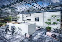KITCHEN DESIGN | HET ARSENAAL / Kitchen design. Inspired by Keukenmedium & Kloosterman Exclusief in Het Arsenaal.