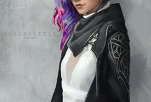 Shadowrun potential character art