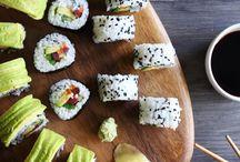 •FOOD: sushi