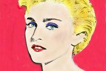 """""""arte"""" #popart by @chiarasolems / """"opere"""" in stile pop art fatte da me."""