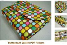 Polka-Spot Bags + Wallets / by PatternPile.com