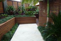 Landscape - Raised planters