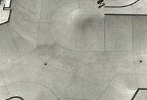 Skateboard concrete park