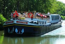 Luxury Hotel Barges / About our beautiful fully-crewed hotel barges in France!