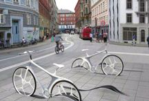 Promenade bicycle parking