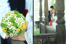 Traditional romanian wedding