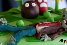 Plants Vs. Zombie Cake