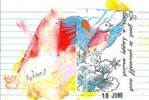 index card journaling