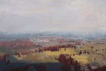 Inspiring art landscapes / Landscapes in oil, pastel and watercolor