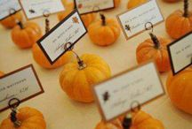 FALL WEDDING IDEAS / Check out these top trending color schemes and ideas for your fall wedding.