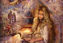 Art - Josephine Wall / Josephine Wall is a popular English fantasy artist and sculptor.