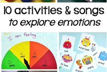 music - emotions activities