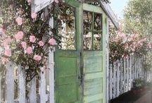 Genbrug i haven (garden recycle) / Garden recycling, genbrug i haven.