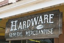 Hardware Store Signs