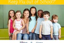 Keep Flu Out of School / An initiative funded by the Centers for Disease Control and Prevention (CDC) and directed by the National Association of School Nurses, Families Fighting Flu, and the National Foundation for Infectious Diseases-Childhood Influenza Immunization Coalition.   Use these free downloadable graphics to share Keep Flu Out of School #KFOS resources with parents/guardians, teachers, and school nurses on social media.  Visit www.preventchildhoodinfluenza.org/school to learn more.