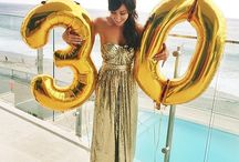 Large Number + Letter Balloons / Regular balloons are old news. Letter and number balloons are fun, bold, and an easy party decoration that everyone will love.