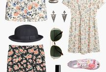 Floral / #floral #fashion #cute