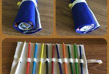 Felt crafts for kids / Mnou vyrobene aktivity, hracky, doplnky z filcu.