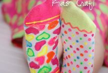 Colorful Abandon craft ideas / Ideas for activities