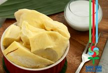 Frozen Durian ^_^ Ready to eat