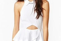 Fashion: Bluses and Peplums / Amo los peplums y las blusas delgadas, ideas para comprar