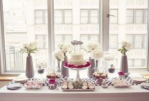 Sweet table party deco