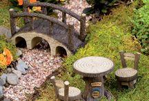 miniatúrne záhrady