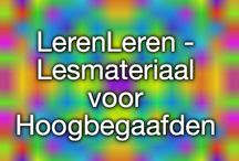 Lessmateriaal Hoogbegaafden